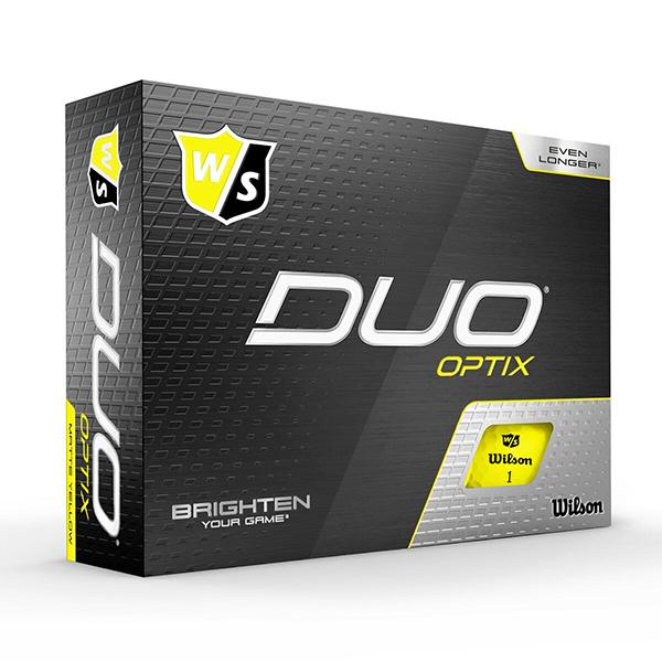 Wilson Duo Optix Yellow